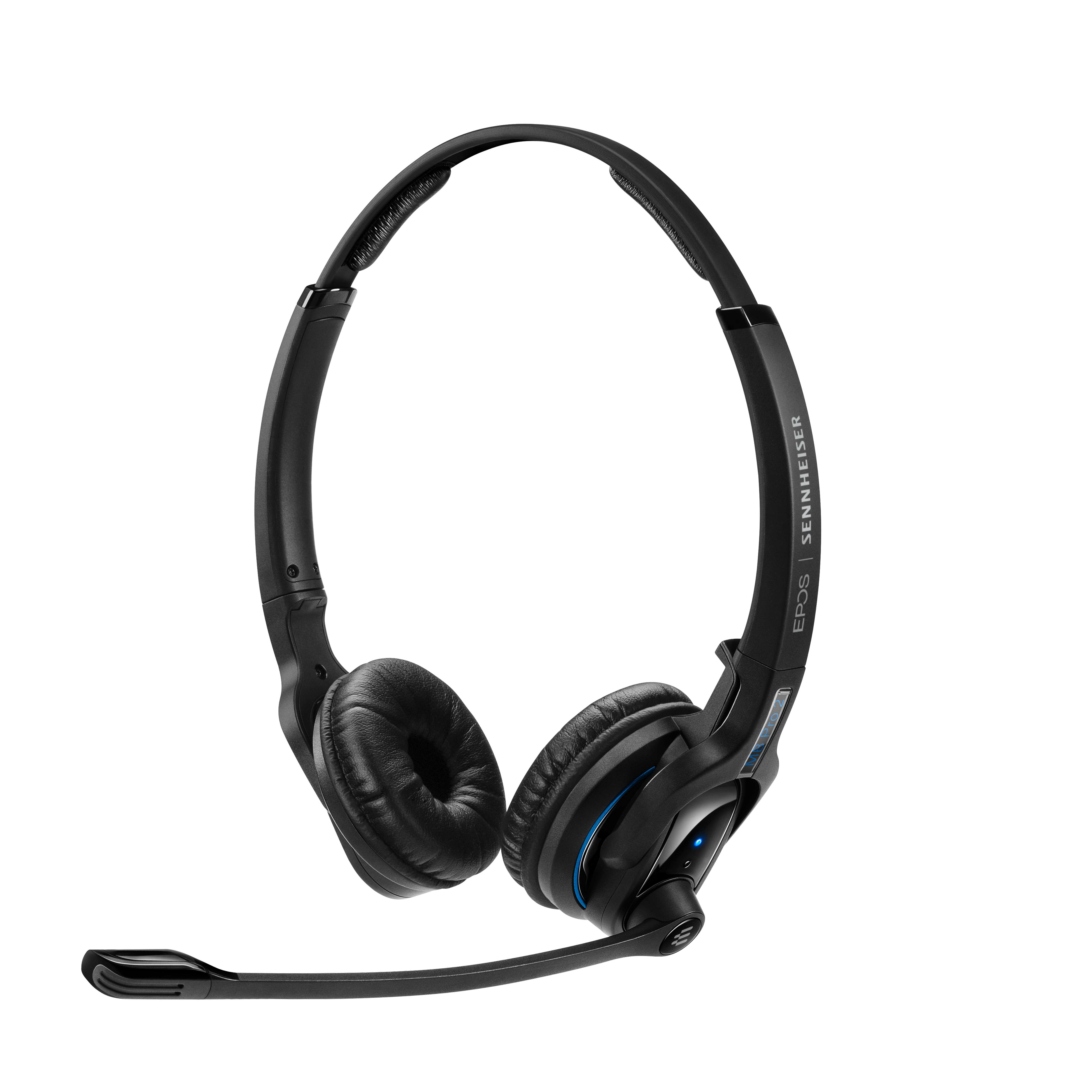 EPOS | Sennheiser IMPACT MB Pro2 UC ML Bluetooth 4.0 Headset with Desk USB Stand, Binaural, Noise Cancelling Mic, Upto 15 Hours Talk, Teams Certified