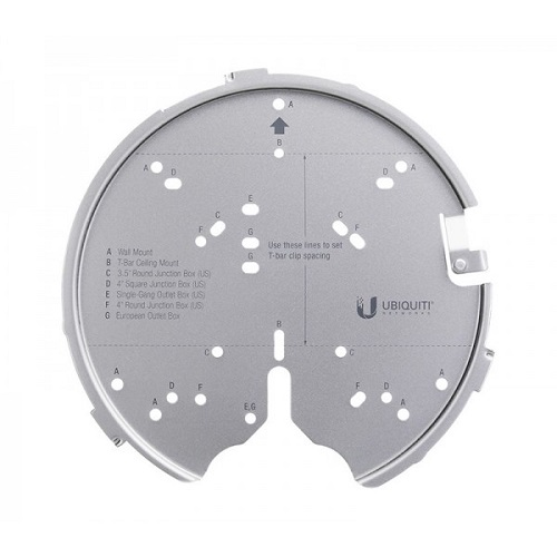 Ubiquiti Versatile mounting system for UAP-AC-PRO, UAP-AC-HD, UAP-AC-SHD, and above