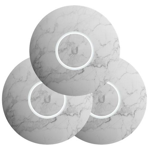 Ubiquiti UniFi NanoHD Hard Cover Skin Casing - Marble Design - 3-Pack