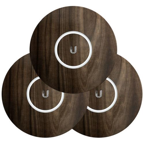 Ubiquiti UniFi NanoHD Hard Cover Skin Casing - Wood Design - 3-Pack