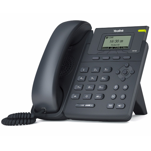 Yealink T19PE2 Enterprise HD IP Phone Entry-Level Single Line IP Phone